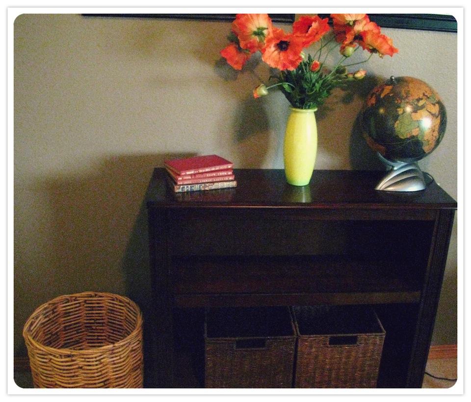Julies Guest Shelf