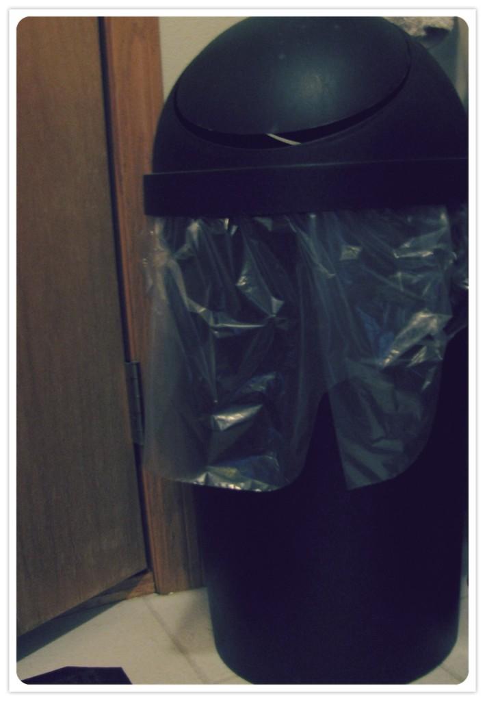 Julies Laundry Trash
