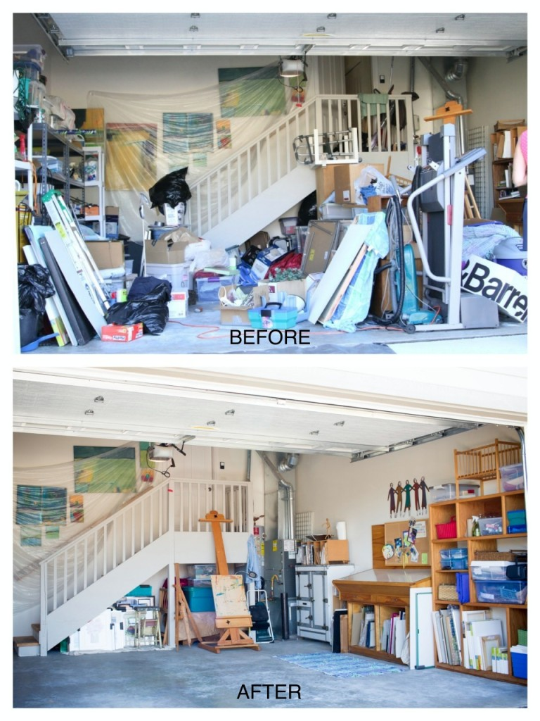 Organizing Before And After: What A Difference A Few Hours Can Make…